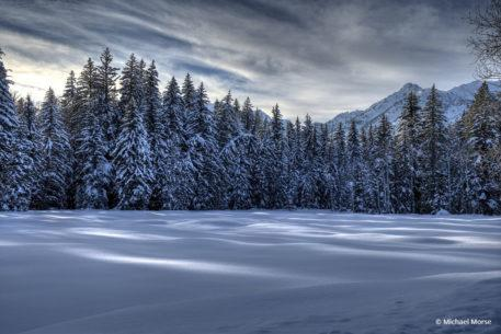 "Today's Photo Of The Day is ""Afternoon's Winter Delight"" By Michael Morse. Location: Wyoming."