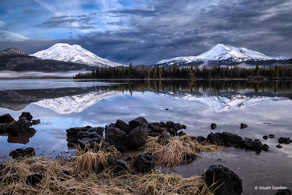 """Today's Photo Of The Day is """"First Snow"""" by Stuart Gordon. Location: Sparks Lake, Deschutes National Forest, Oregon."""