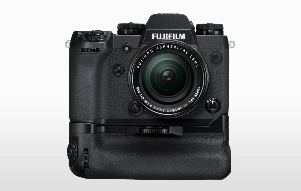 Fujifilm X-H1 with Vertical Power Booster Grip VPB-XH1