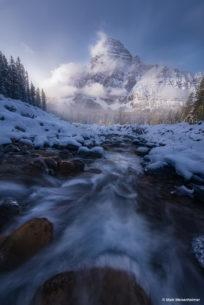 "Today's Photo Of The Day is ""Winter's Touch"" by Matt Meisenheimer. Location: Banff National Park, Alberta, Canada."