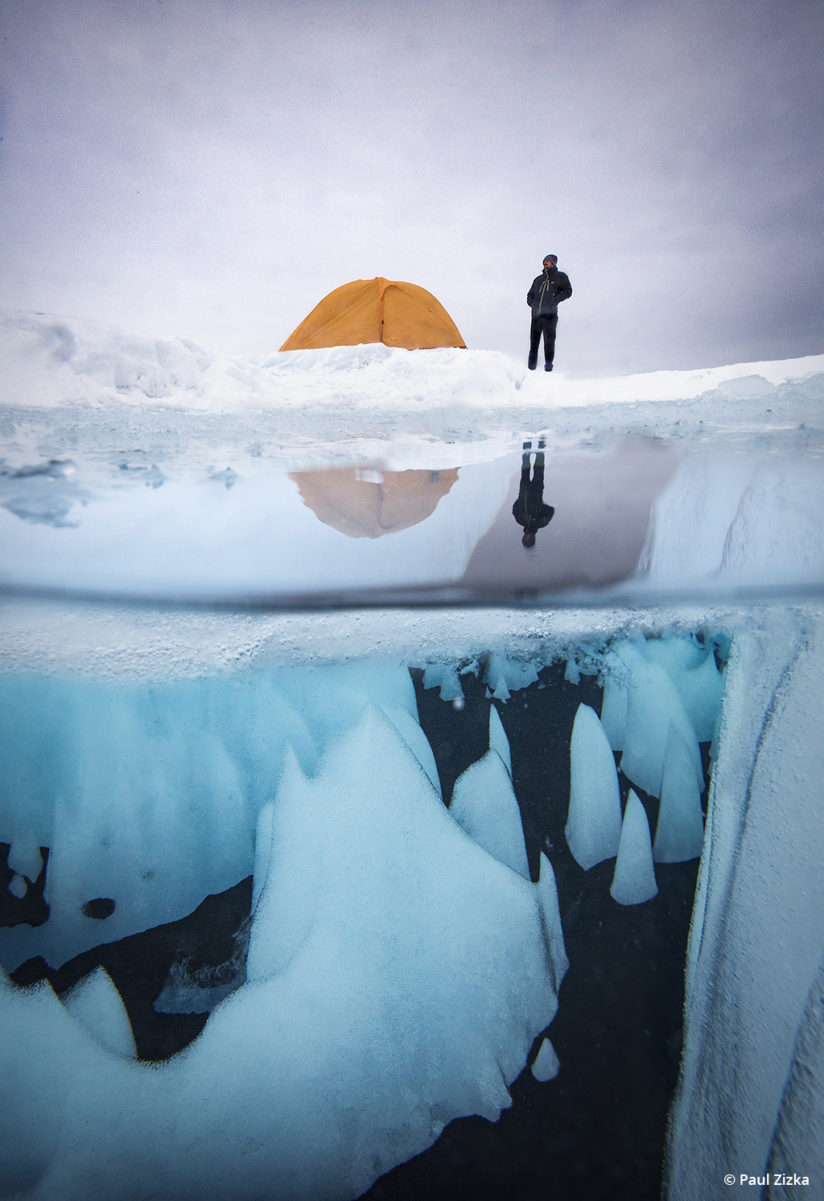Cold weather photo tips, Greenland ice cap