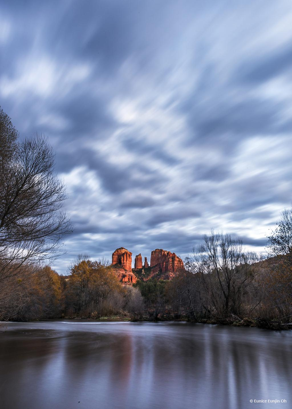"""Today's Photo Of The Day is """"Cathedral Rock"""" by Eunice Eunjin Oh. Location: Sedona, Arizona."""