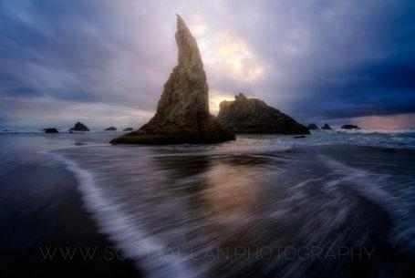 "Today's Photo Of The Day is ""The Wizard's Hat"" by Scott Allan. Location: Bandon, Oregon."