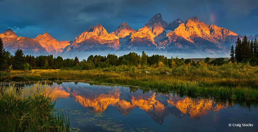 """Today's Photo Of The Day is """"Teton Treat"""" by Craig Stocks. Location: Grand Teton National Park, Wyoming."""