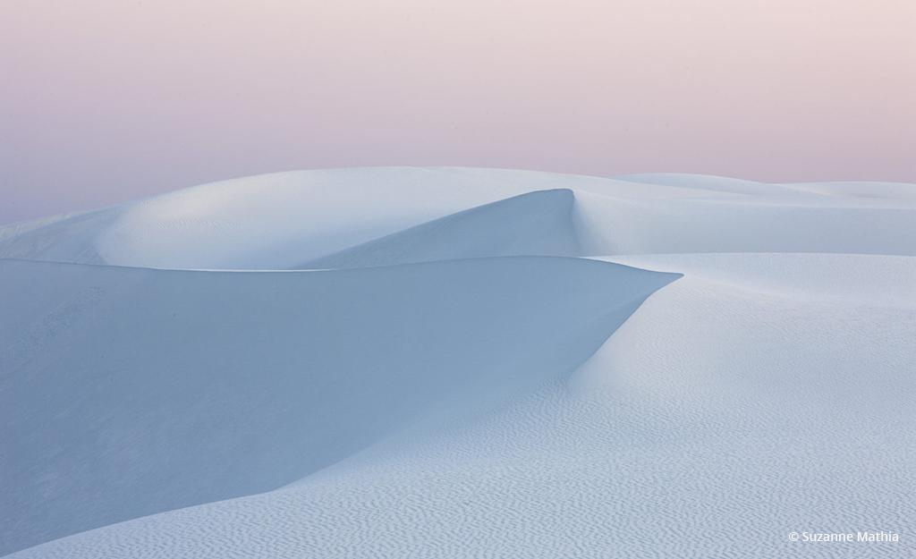 """Today's Photo Of The Day is """"Whipped Topping"""" by Suzanne Mathia. Location: White Sands National Monument, New Mexico."""