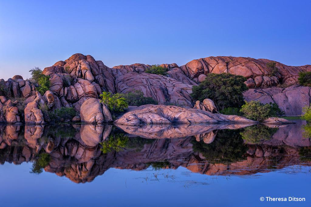 """Today's Photo Of The Day is """"Kaleidoscopic Reflections"""" by Theresa Ditson. Location: Prescott, Arizona."""