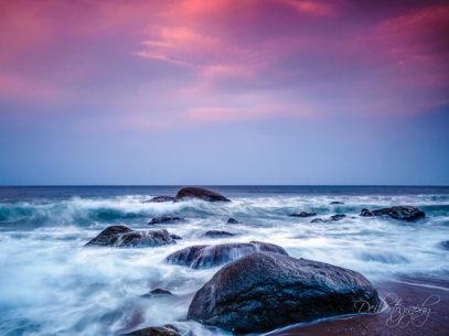 """Today's Photo Of The Day is """"Playtime at Sunset"""" by Mark Deibert. Location: Yangyang, South Korea."""
