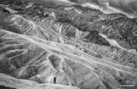 "Today's Photo Of The Day is ""The Badlands"" by Valerie Millett. Location: Death Valley National Park, California."
