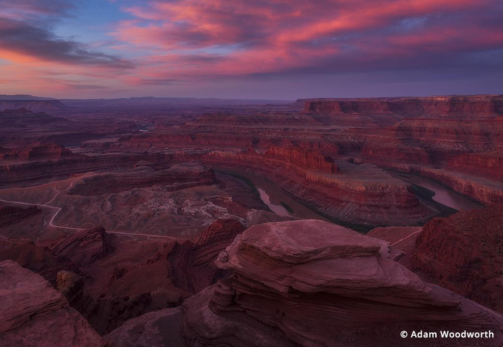 Photo Road Trip: sunrise from Dead Horse Point