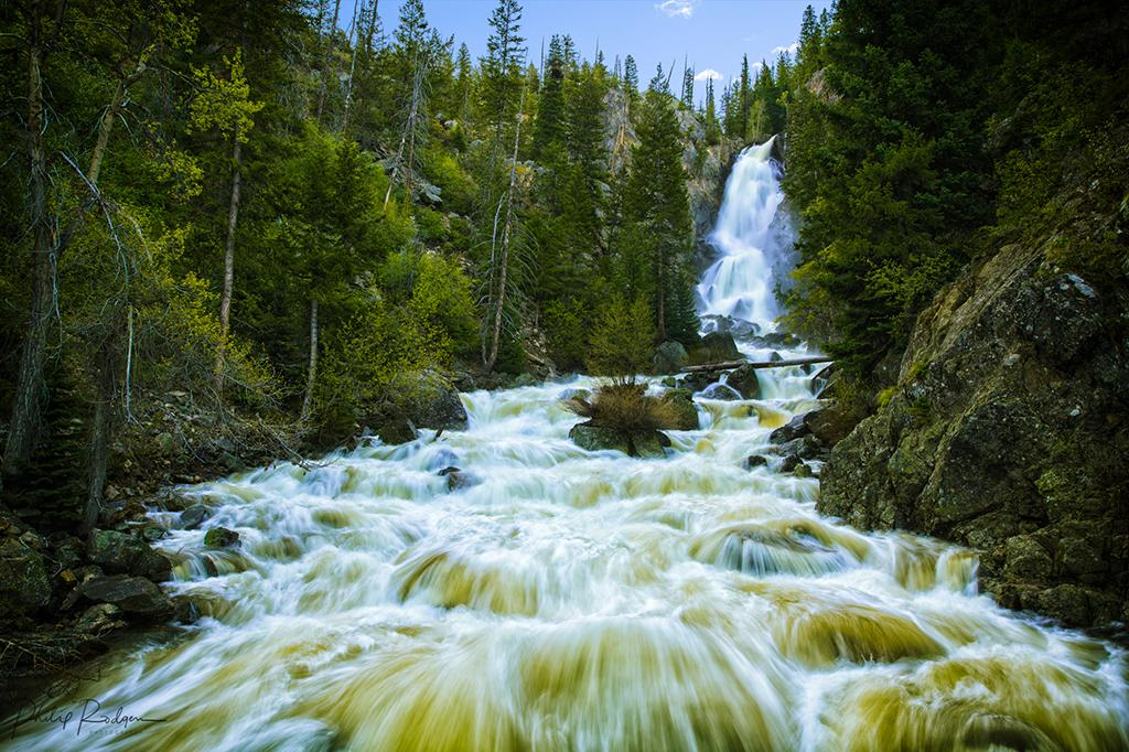 Fish Creek Falls, Steamboat Springs, CO.