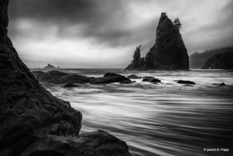 "Today's Photo Of The Day is ""Rialto Beach"" by James K. Papp. Location: Olympic National Park, Washington."