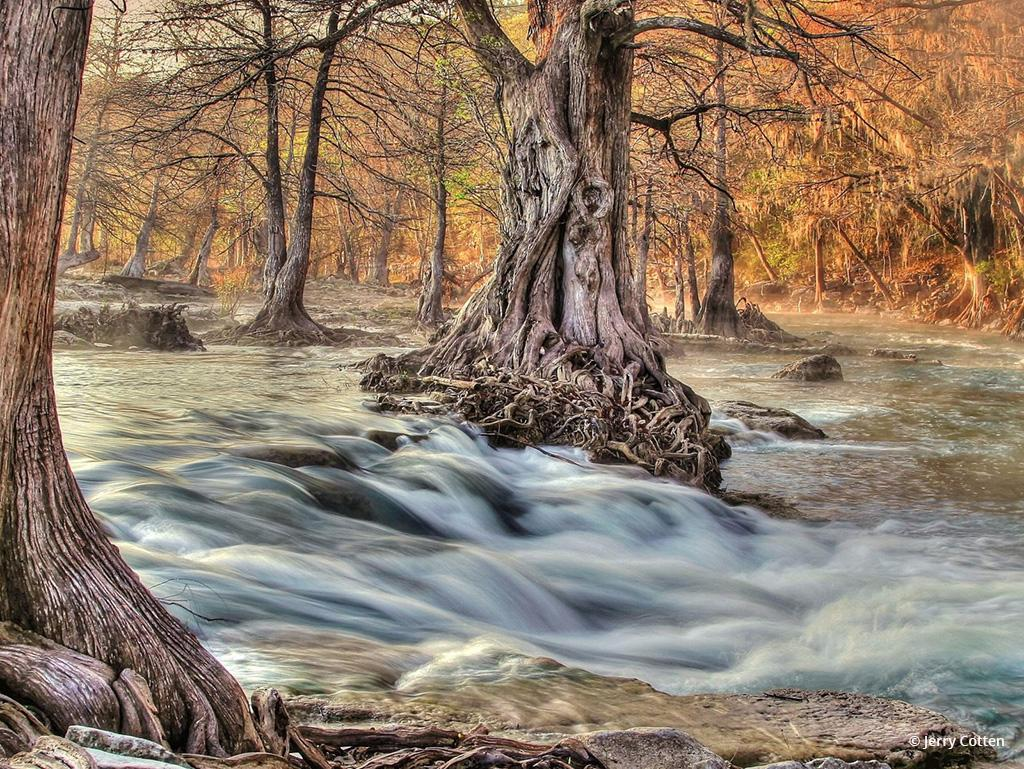 """Today's Photo Of The Day is """"Guadalupe River Sunrise"""" by Jerry Cotten. Location: Central Texas."""