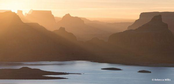 """Today's Photo Of The Day is """"Alstrom"""" by Rebecca Wilks Location: Alstom Point, overlooking Lake Powell in Utah."""