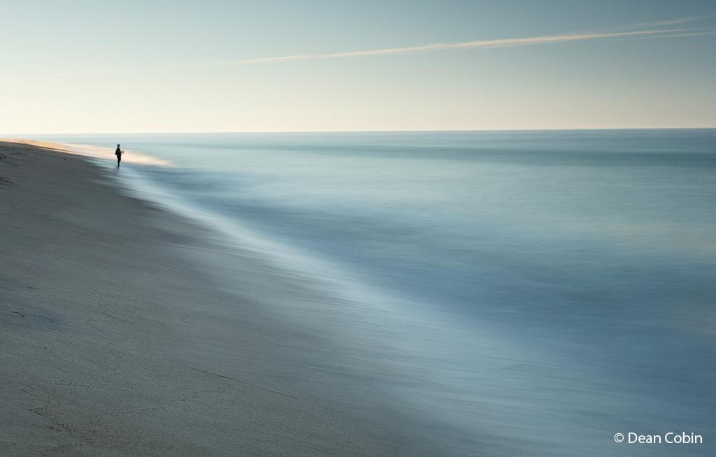 """Today's Photo Of The Day is """"The Fisherman"""" by Dean Cobin. Location: Longnook Beach, Cape Cod, Massachusetts."""