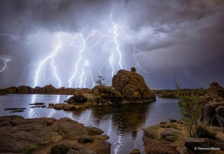 "Today's Photo Of The Day is ""The Tempest"" by Theresa Ditson. Location: Prescott, Arizona."