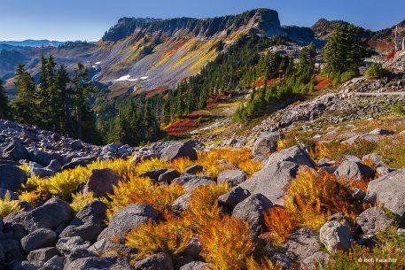 """Today's Photo Of The Day is """"Fiery Cascades"""" by Bob Faucher. Location: Mt. Baker-Snoqualmie National Forest, Washington."""