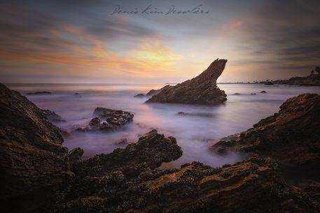 "Today's Photo Of The Day is ""Matterhorn in Corona Del Mar"" by Denis Dessoliers. Location: Newport Beach, California."