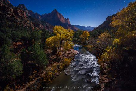 "Today's Photo Of The Day is ""Watchman Night"" by Kyle Jones. Location: Zion National Park, Utah."