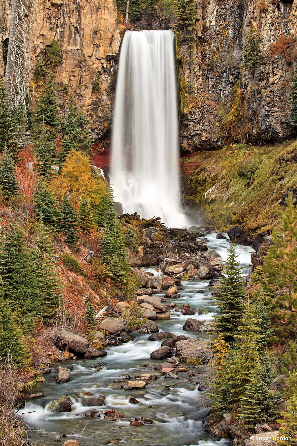 "Today's Photo Of The Day is ""Tumalo Falls"" by Stuart Gordon. Location: Deschutes National Forest, Oregon."