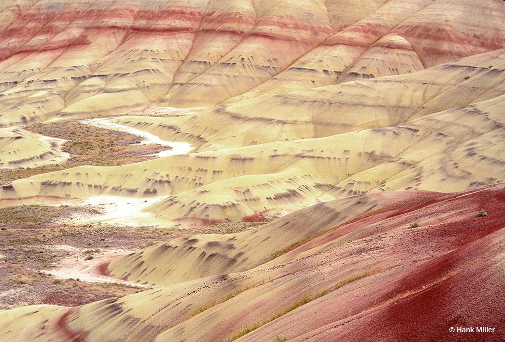 "Today's Photo Of The Day is ""Painted Hills"" by Hank Miller. Location: John Day Fossil Beds, Oregon."