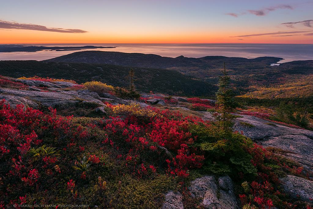 "Today's Photo Of The Day is ""First Light – Acadia"" by Harry Lichtman. Location: Acadia National Park, Maine."