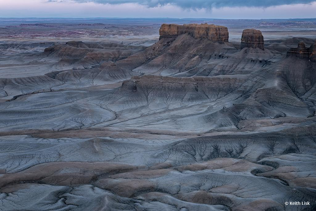 "Today's Photo Of The Day is ""Time Lines"" by Keith Lisk. Location: Factory Butte, Utah."