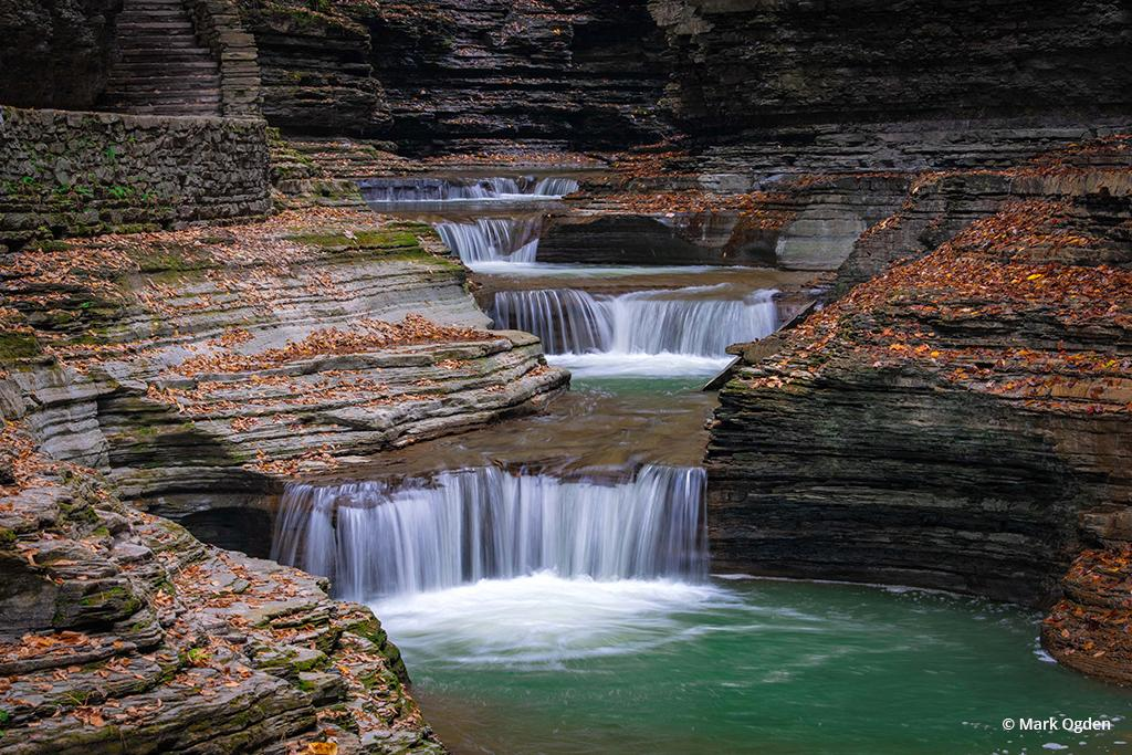 "Today's Photo Of The Day is ""The Glen of Pools"" by Mark Ogden. Location: Watkins Glen State Park, New York."