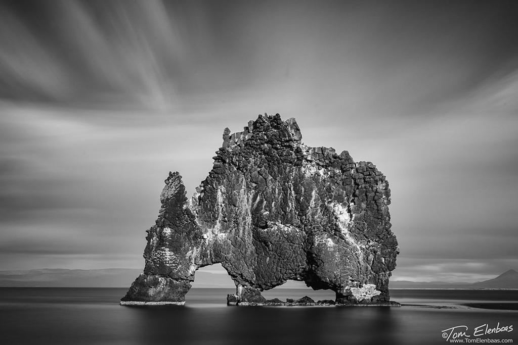 "Today's Photo Of The Day is ""Hvitserkur Troll"" by Tom Elenbaas. Location: Northwest Iceland."