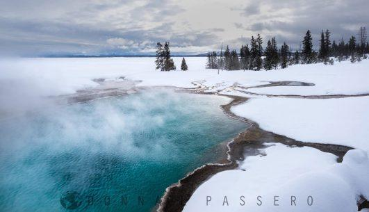 "Today's Photo Of The Day is ""West Thumb Geyser Basin"" by Donna Passero. Location: Yellowstone National Park, Wyoming."