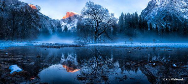 "Today's Photo Of The Day is ""The Face Of The Valley"" by Kris Walkowski. Location: Yosemite National Park, California."