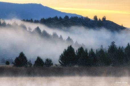 "Today's Photo Of The Day is ""Shasta Valley Early Morning Mist"" by Beth Young. Location: Shasta Valley Wildlife Area, California."