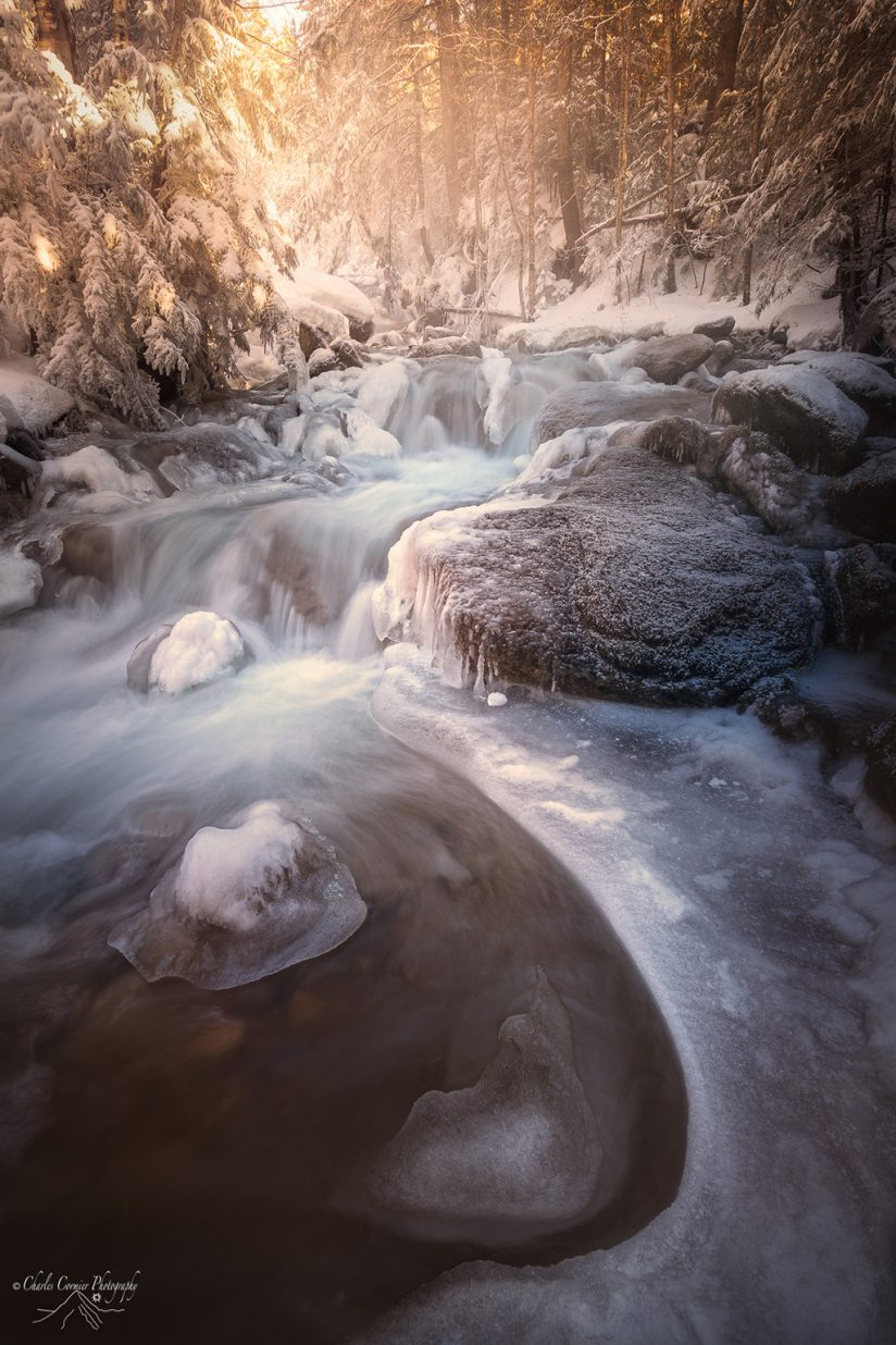 "Today's Photo Of The Day is ""Mist+Ice"" by Charles Cormier. Location: White Mountains, New Hampshire."