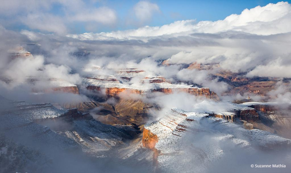 "Today's Photo Of The Day is ""Canyon Revealed"" by Suzanne Mathia. Location: Grand Canyon National Park, Arizona."