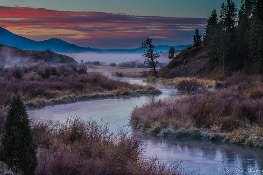 "Today's Photo Of The Day is ""Salt River Dawn"" by Tammy Neufeld. Location: Star Valley, Wyoming."