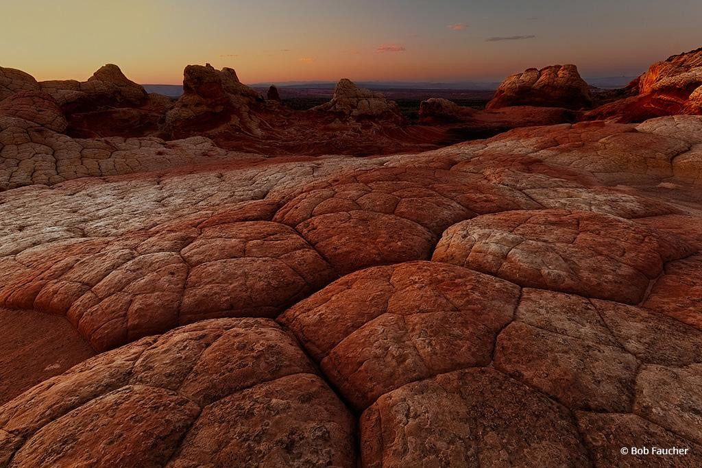 "Today's Photo Of The Day is ""Brain Rock"" by Bob Faucher. Location: Vermilion Cliffs National Monument, Arizona."