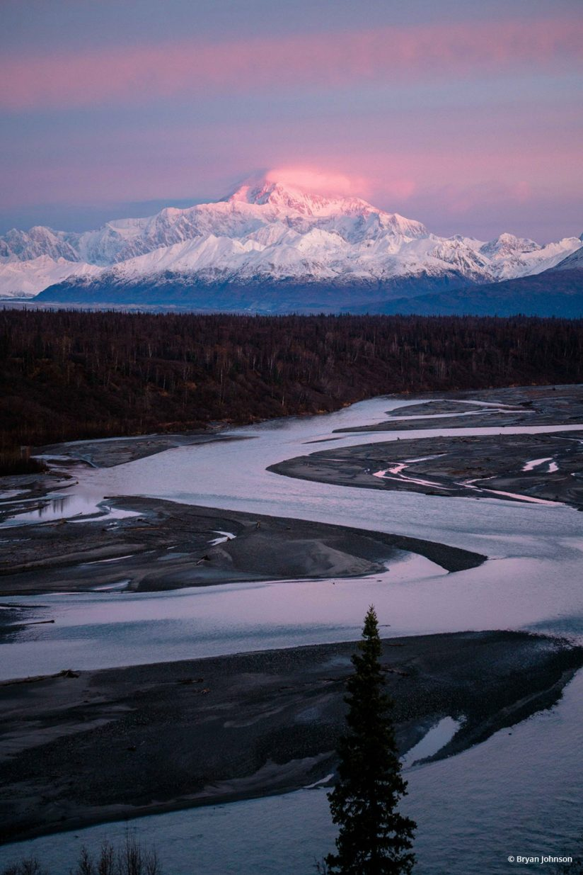 "Today's Photo Of The Day is ""Denali"" by Bryan Johnson. Location: Denali National Park, Alaska."