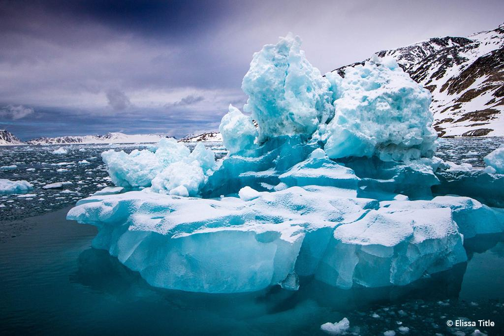 """Today's Photo Of The Day is """"Sculpted"""" by Elissa Title. Location: Svalbard, Norway."""