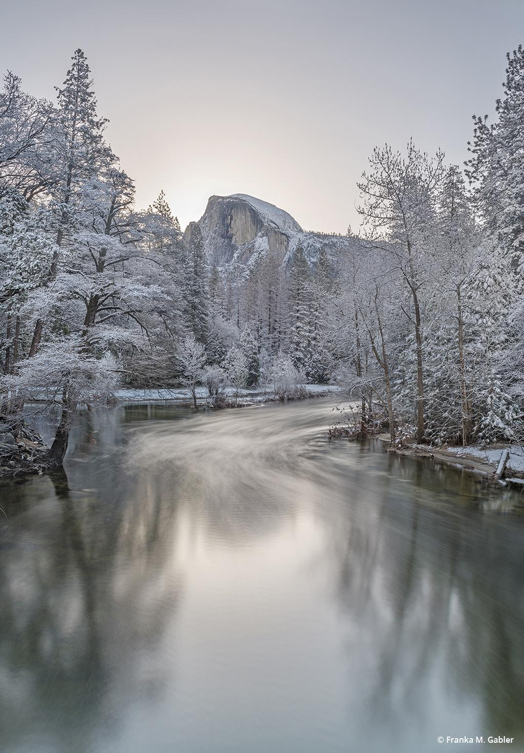 """Today's Photo Of The Day is """"Waiting for the Sunrise, Yosemite Valley"""" by Franka M. Gabler. Location: California."""