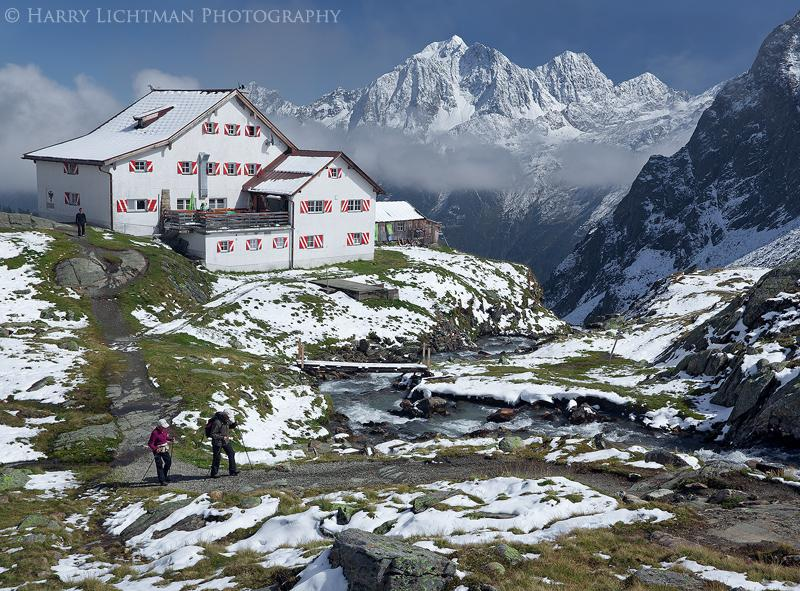 "Today's Photo Of The Day is ""Mountain Retreat"" by Harry Lichtman. Location: Stubai Alps, Austria."