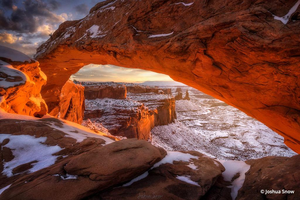 "Today's Photo Of The Day is ""Dragonstone"" by Joshua Snow. Location: Canyonlands National Park, Utah."