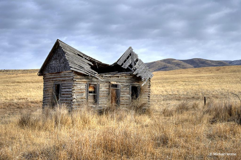 "Today's Photo Of The Day is ""Collapsed"" by Michael Morse. Location: Chesterfield, Idaho."