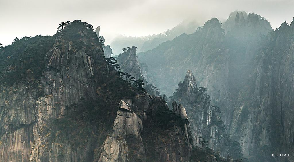 "Today's Photo Of The Day is ""Chinese Painting"" by Siu Lau. Location: Huangshan mountain range, Anhui, China."