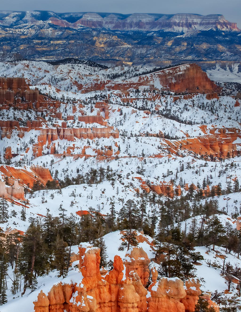 "Today's Photo Of The Day is ""Bryce Canyon National Park"" by Valerie Millett. Location: Utah."