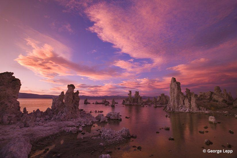Photo of Mono Lake by George Lepp