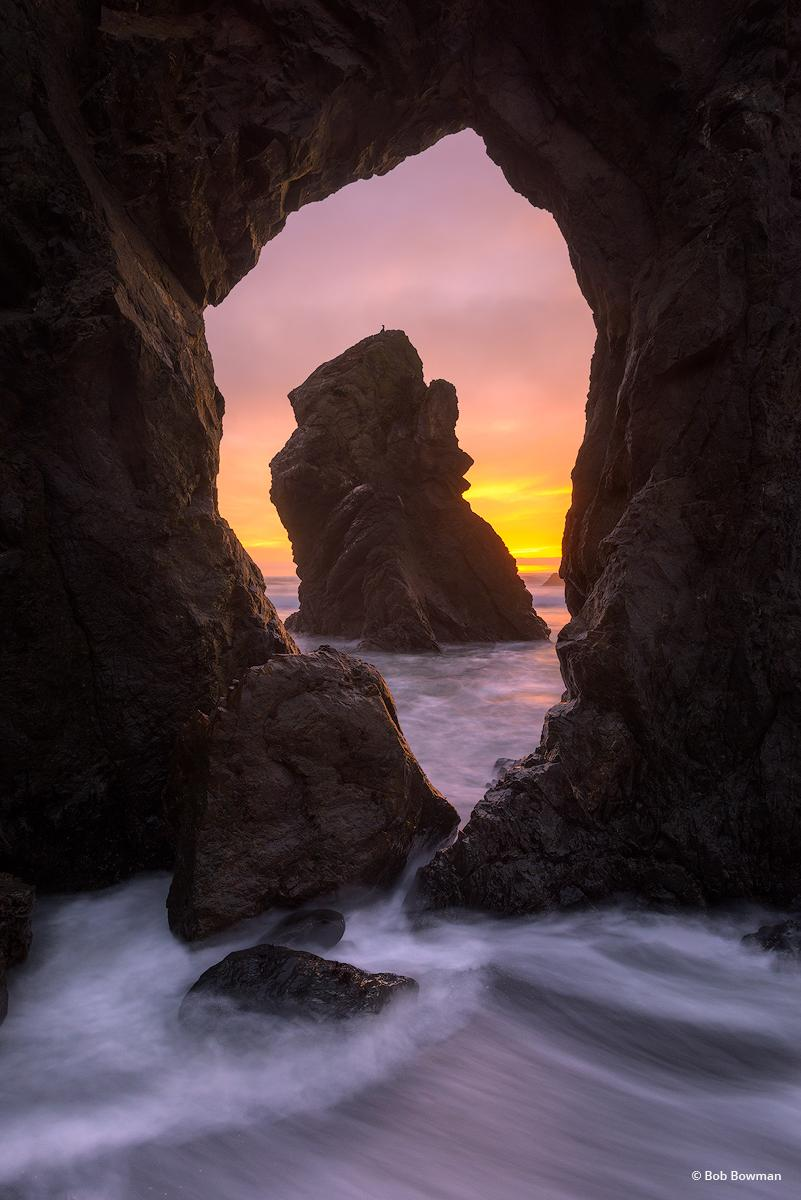 """Today's Photo Of The Day is """"Swoosh"""" by Bob Bowman. Location: Mendocino County, California."""