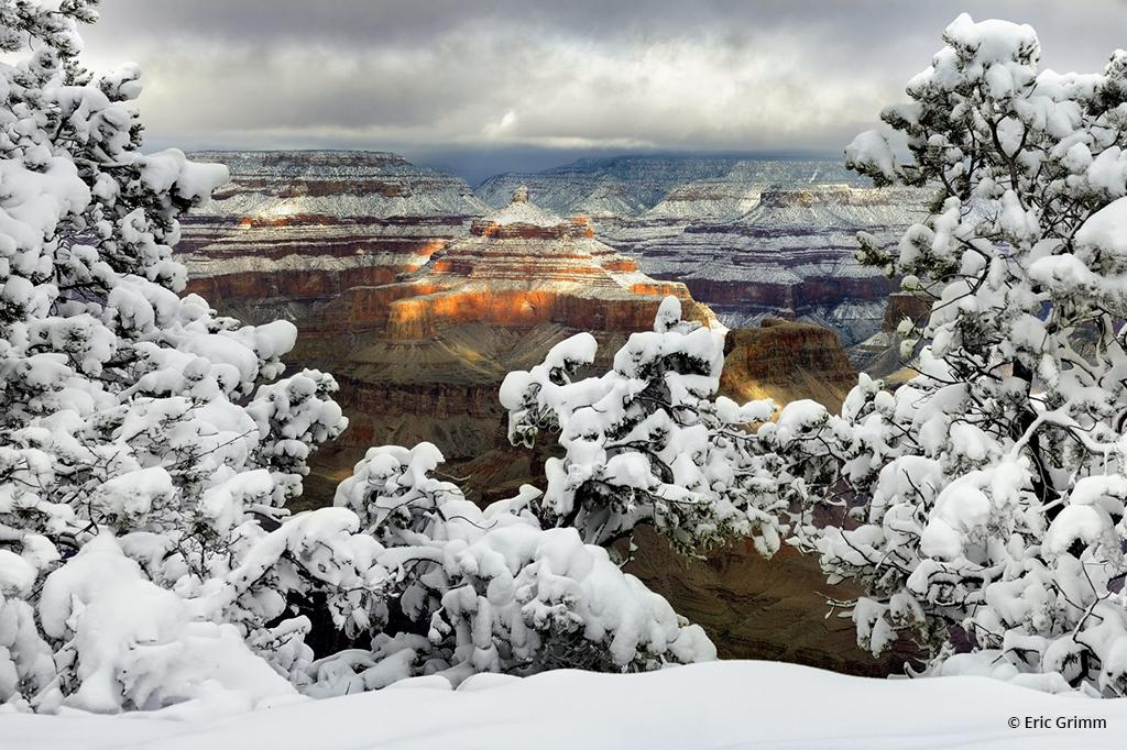"Today's Photo Of The Day is ""Grand Canyon Sunrise"" by Eric Grimm. Location: Grand Canyon National Park, Arizona."