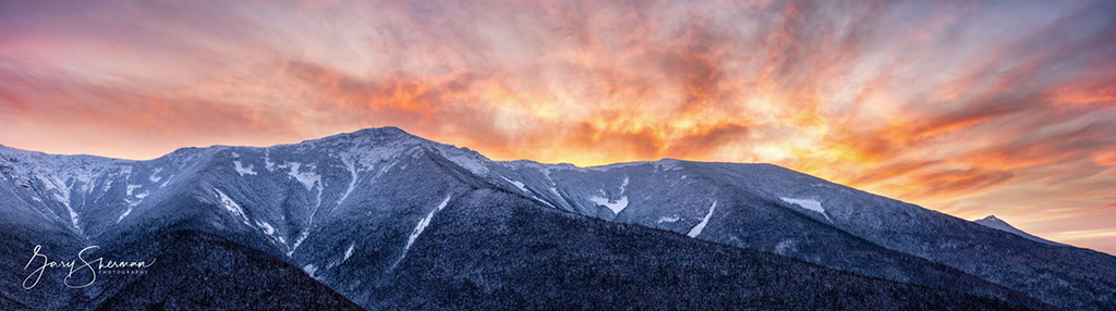 "Today's Photo Of The Day is ""Cloudfire"" by Gary Sherman. Location: Franconia Range, New Hampshire."