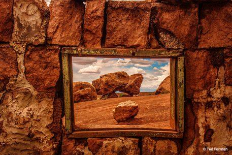 "Today's Photo Of The Day is ""Picture Window"" by Ted Forman. Location: Page, Arizona."