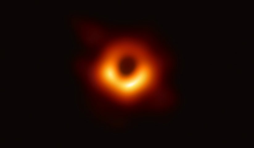Astronomers Capture First Photograph Of A Black Hole