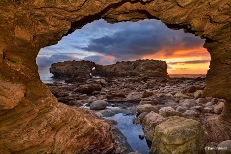 """Today's Photo Of The Day is """"Sunset Portal"""" by David Shield. Location: Corona Del Mar, California."""